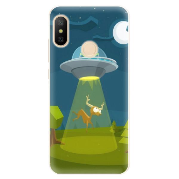 Silikonové pouzdro iSaprio - Alien 01 - Xiaomi Mi A2 Lite