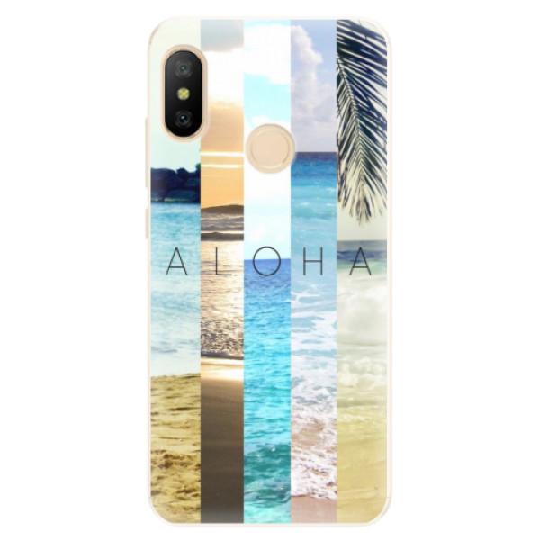 Silikonové pouzdro iSaprio - Aloha 02 - Xiaomi Mi A2 Lite