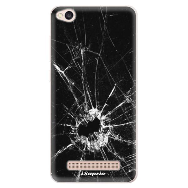 Silikonové pouzdro iSaprio - Broken Glass 10 - Xiaomi Redmi 4A