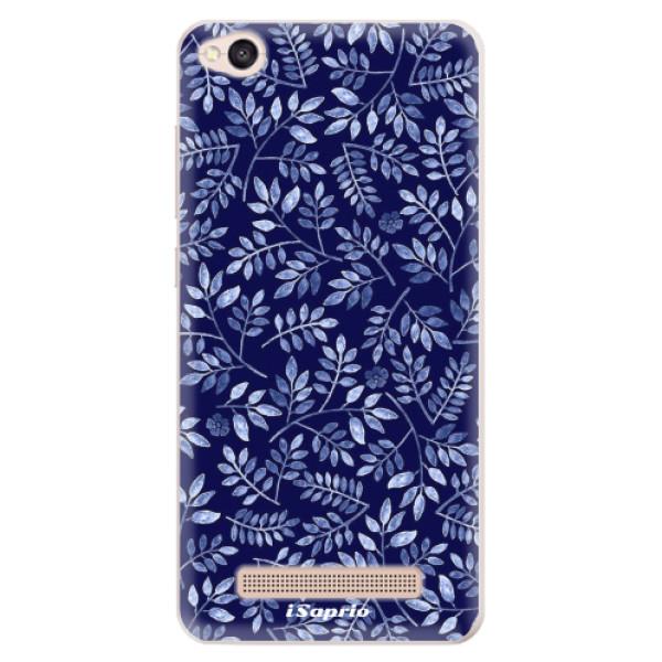 Silikonové pouzdro iSaprio - Blue Leaves 05 - Xiaomi Redmi 4A