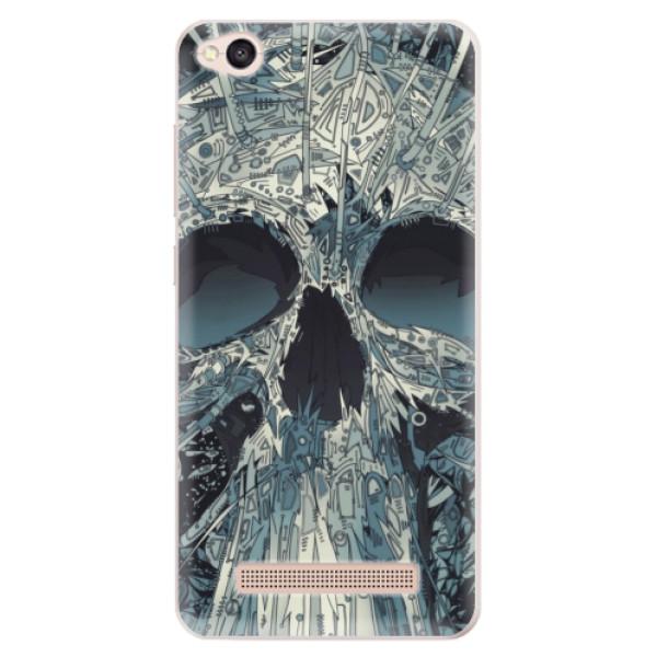 Silikonové pouzdro iSaprio - Abstract Skull - Xiaomi Redmi 4A