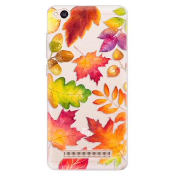 Silikonové pouzdro iSaprio - Autumn Leaves 01 - Xiaomi Redmi 4A