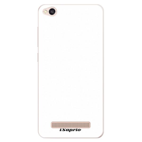 Silikonové pouzdro iSaprio - 4Pure - bílý - Xiaomi Redmi 4A