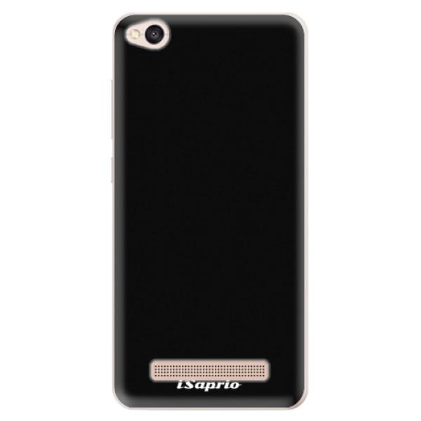 Silikonové pouzdro iSaprio - 4Pure - černý - Xiaomi Redmi 4A