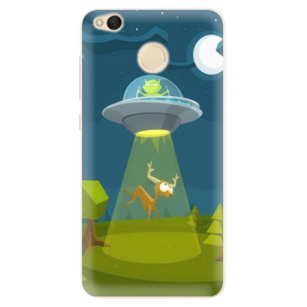 Silikonové pouzdro iSaprio - Alien 01 - Xiaomi Redmi 4X