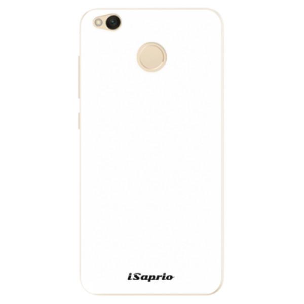 Silikonové pouzdro iSaprio - 4Pure - bílý - Xiaomi Redmi 4X