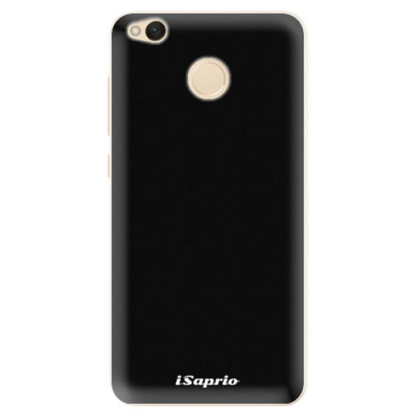 Silikonové pouzdro iSaprio - 4Pure - černý - Xiaomi Redmi 4X