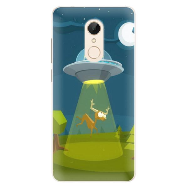 Silikonové pouzdro iSaprio - Alien 01 - Xiaomi Redmi 5