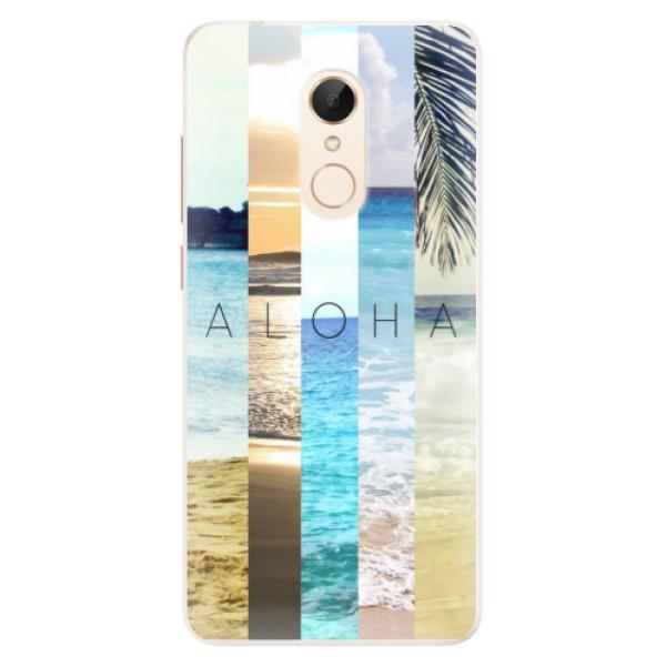 Silikonové pouzdro iSaprio - Aloha 02 - Xiaomi Redmi 5