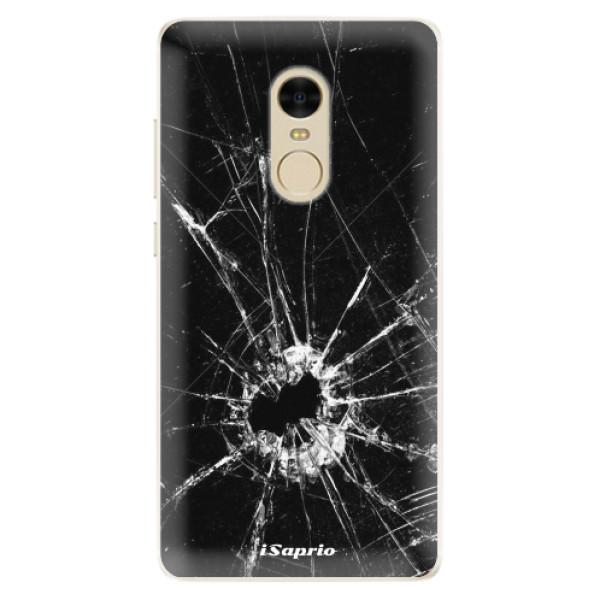 Silikonové pouzdro iSaprio - Broken Glass 10 - Xiaomi Redmi Note 4