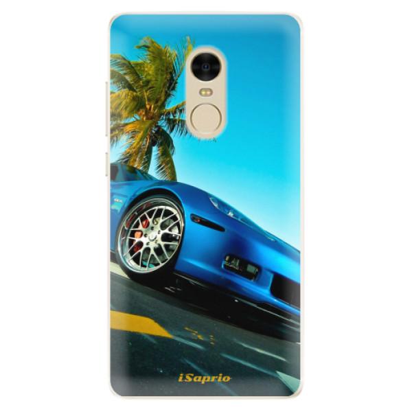 Silikonové pouzdro iSaprio - Car 10 - Xiaomi Redmi Note 4