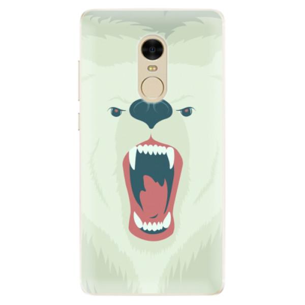 Silikonové pouzdro iSaprio - Angry Bear - Xiaomi Redmi Note 4