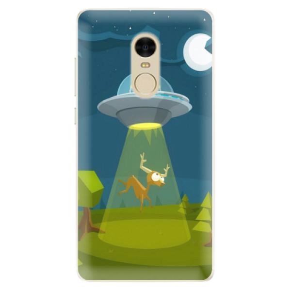 Silikonové pouzdro iSaprio - Alien 01 - Xiaomi Redmi Note 4