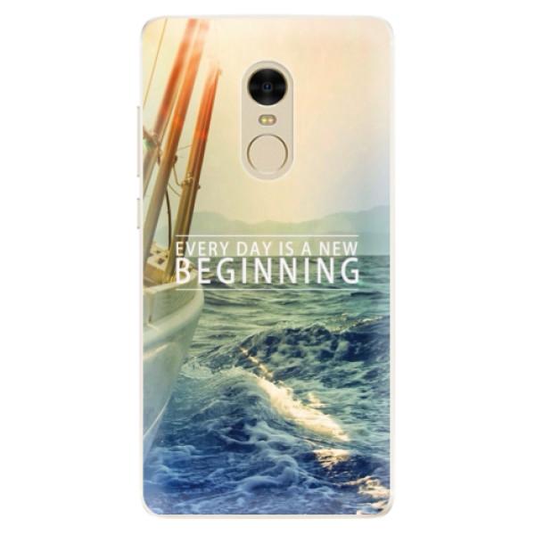 Silikonové pouzdro iSaprio - Beginning - Xiaomi Redmi Note 4