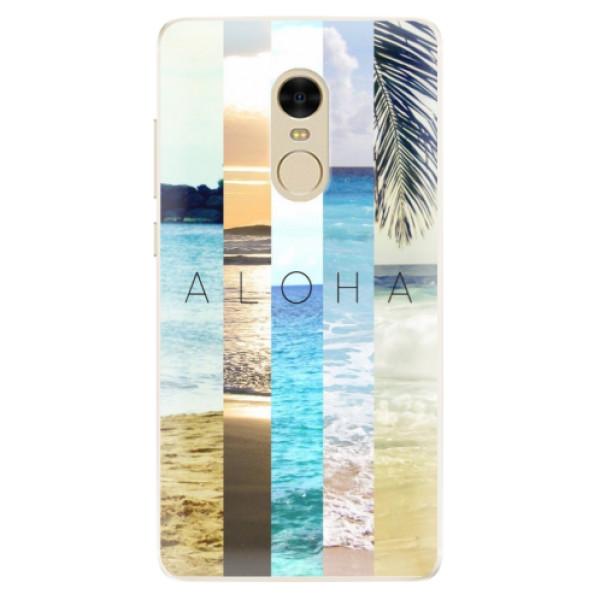 Silikonové pouzdro iSaprio - Aloha 02 - Xiaomi Redmi Note 4