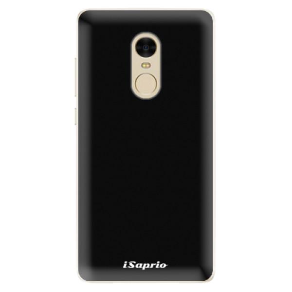 Silikonové pouzdro iSaprio - 4Pure - černý - Xiaomi Redmi Note 4