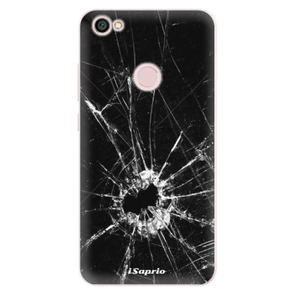 Silikonové pouzdro iSaprio - Broken Glass 10 - Xiaomi Redmi Note 5A / 5A Prime