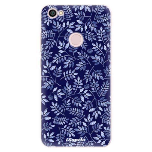 Silikonové pouzdro iSaprio - Blue Leaves 05 - Xiaomi Redmi Note 5A / 5A Prime