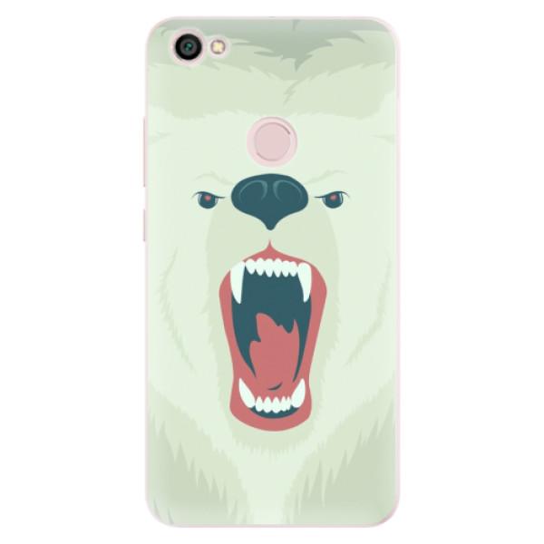 Silikonové pouzdro iSaprio - Angry Bear - Xiaomi Redmi Note 5A / 5A Prime