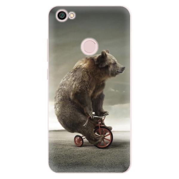 Silikonové pouzdro iSaprio - Bear 01 - Xiaomi Redmi Note 5A / 5A Prime