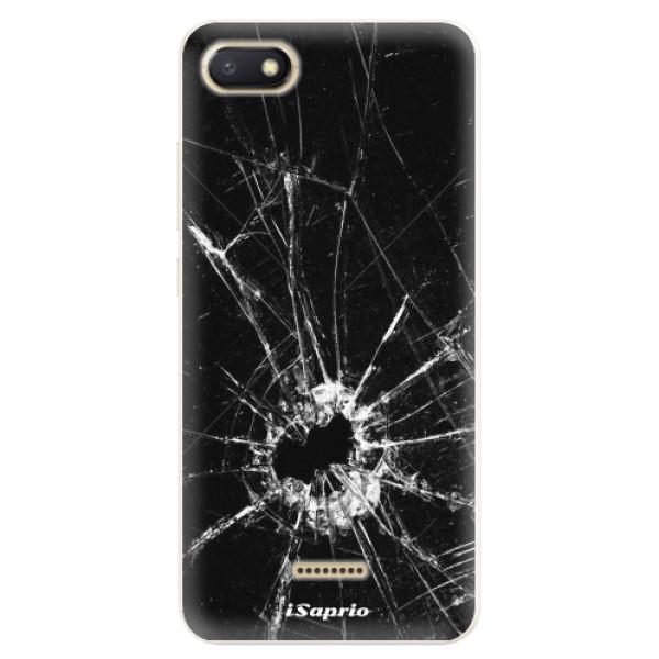 Silikonové pouzdro iSaprio - Broken Glass 10 - Xiaomi Redmi 6A