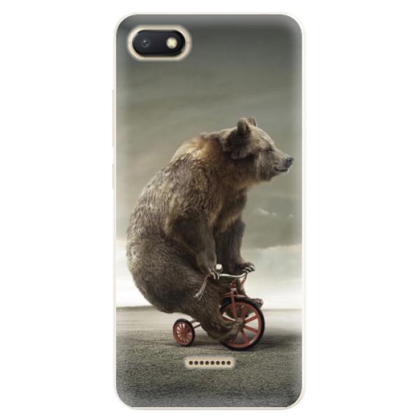 Silikonové pouzdro iSaprio - Bear 01 - Xiaomi Redmi 6A