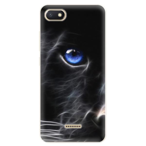 Silikonové pouzdro iSaprio - Black Puma - Xiaomi Redmi 6A