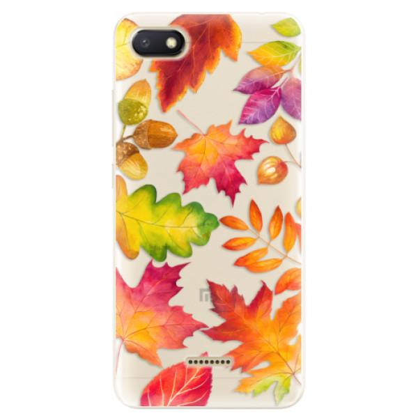 Silikonové pouzdro iSaprio - Autumn Leaves 01 - Xiaomi Redmi 6A