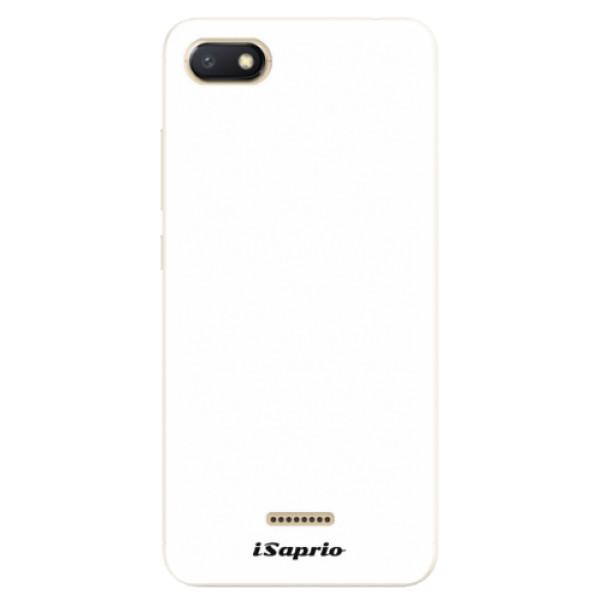 Silikonové pouzdro iSaprio - 4Pure - bílý - Xiaomi Redmi 6A