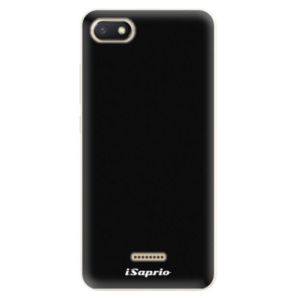 Silikonové pouzdro iSaprio - 4Pure - černý - Xiaomi Redmi 6A