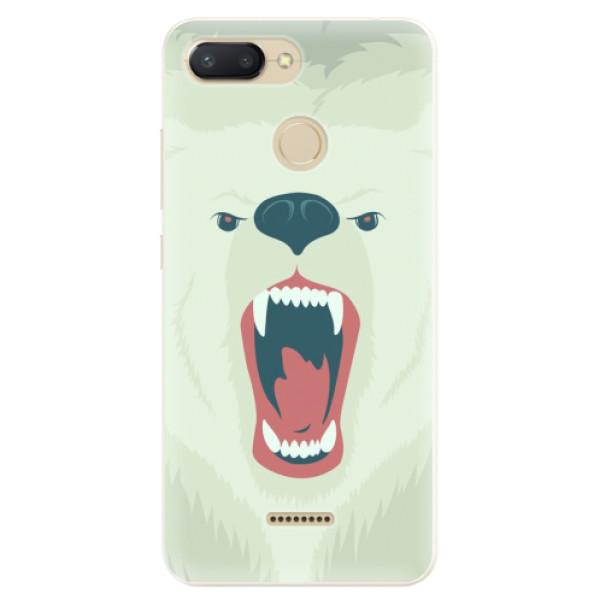 Silikonové pouzdro iSaprio - Angry Bear - Xiaomi Redmi 6