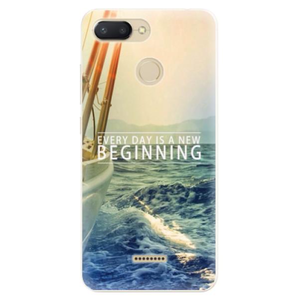 Silikonové pouzdro iSaprio - Beginning - Xiaomi Redmi 6