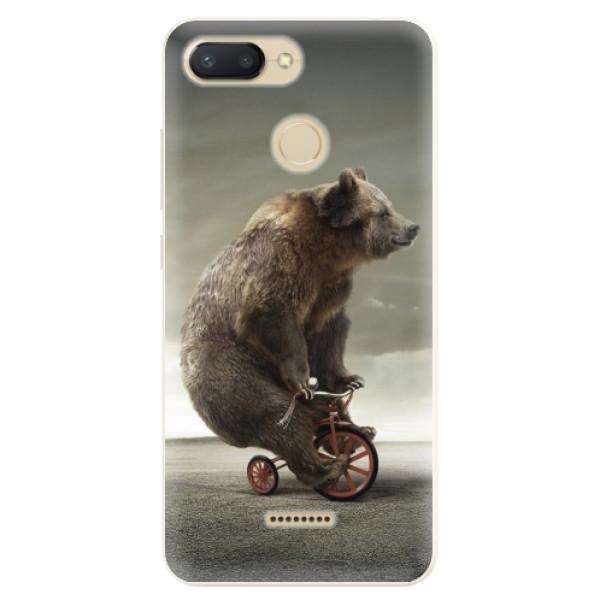 Silikonové pouzdro iSaprio - Bear 01 - Xiaomi Redmi 6