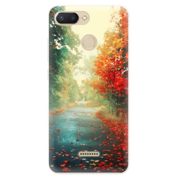 Silikonové pouzdro iSaprio - Autumn 03 - Xiaomi Redmi 6