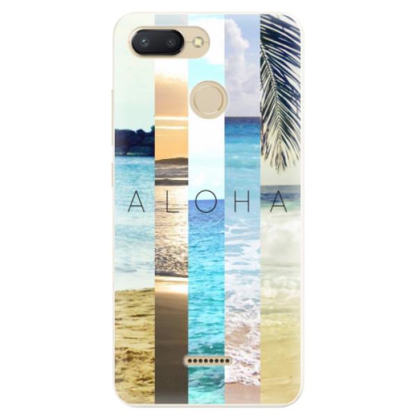 Silikonové pouzdro iSaprio - Aloha 02 - Xiaomi Redmi 6