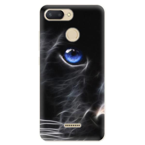 Silikonové pouzdro iSaprio - Black Puma - Xiaomi Redmi 6