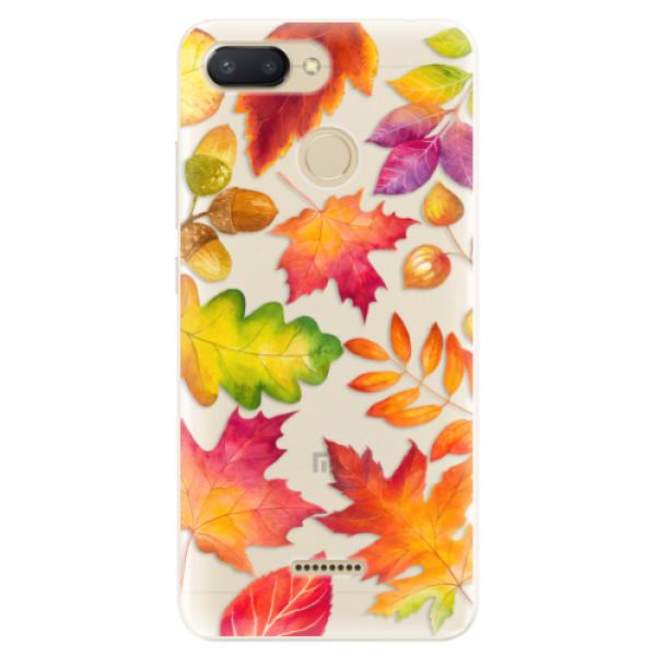 Silikonové pouzdro iSaprio - Autumn Leaves 01 - Xiaomi Redmi 6