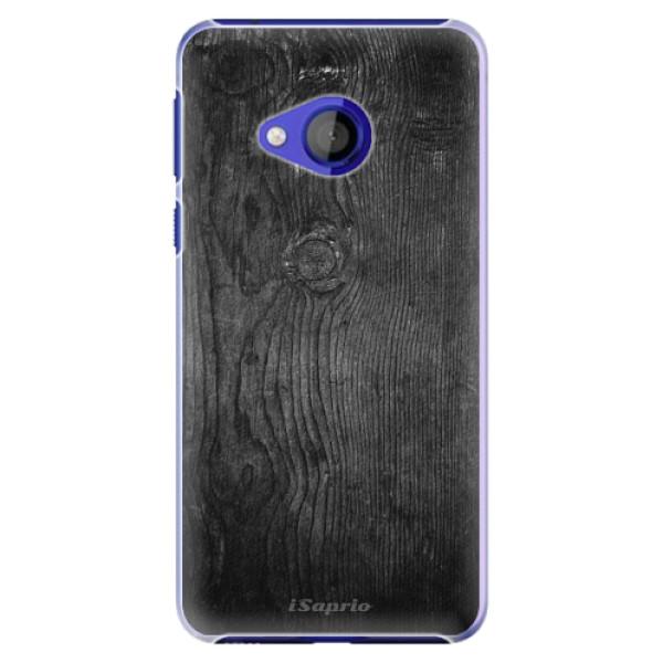 Plastové pouzdro iSaprio - Black Wood 13 - HTC U Play