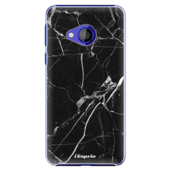 Plastové pouzdro iSaprio - Black Marble 18 - HTC U Play
