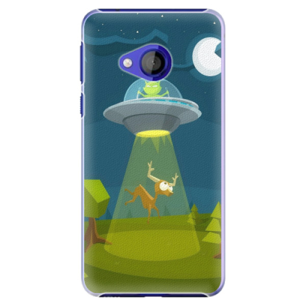 Plastové pouzdro iSaprio - Alien 01 - HTC U Play