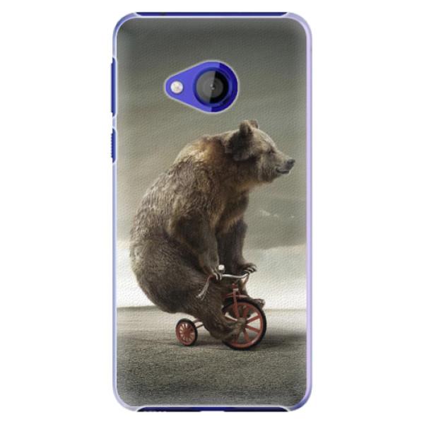 Plastové pouzdro iSaprio - Bear 01 - HTC U Play