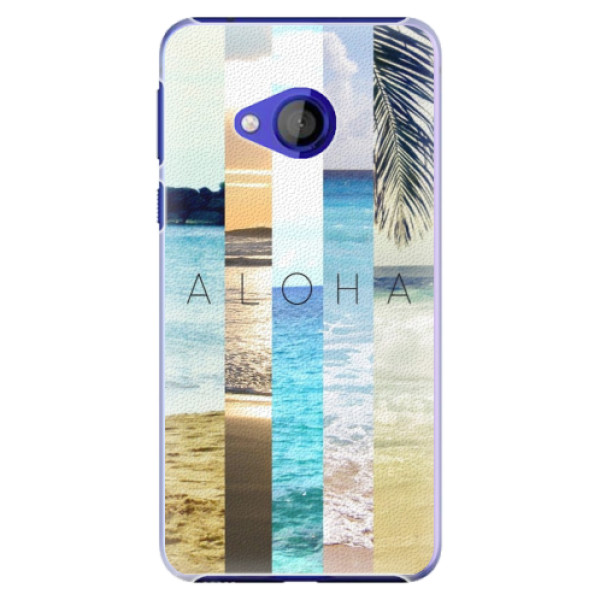 Plastové pouzdro iSaprio - Aloha 02 - HTC U Play