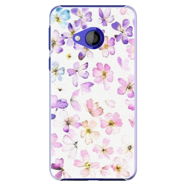Plastové pouzdro iSaprio - Wildflowers - HTC U Play