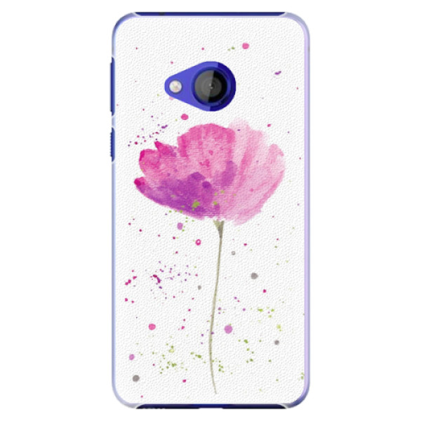 Plastové pouzdro iSaprio - Poppies - HTC U Play