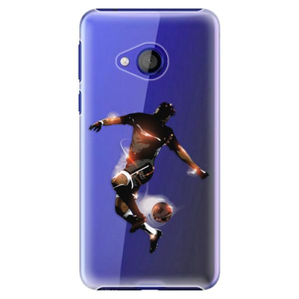 Plastové pouzdro iSaprio - Fotball 01 - HTC U Play