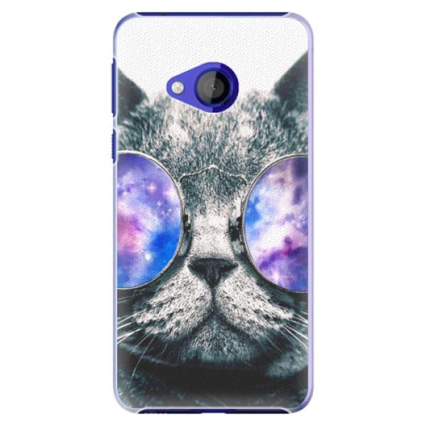 Plastové pouzdro iSaprio - Galaxy Cat - HTC U Play