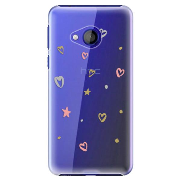 Plastové pouzdro iSaprio - Lovely Pattern - HTC U Play