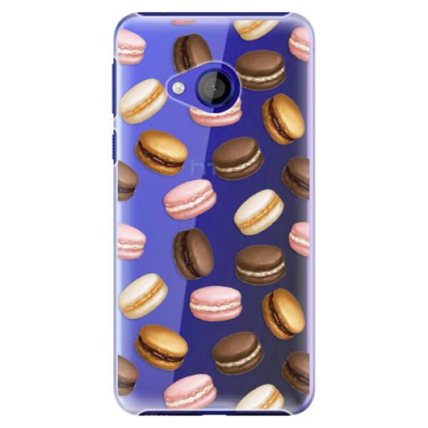 Plastové pouzdro iSaprio - Macaron Pattern - HTC U Play