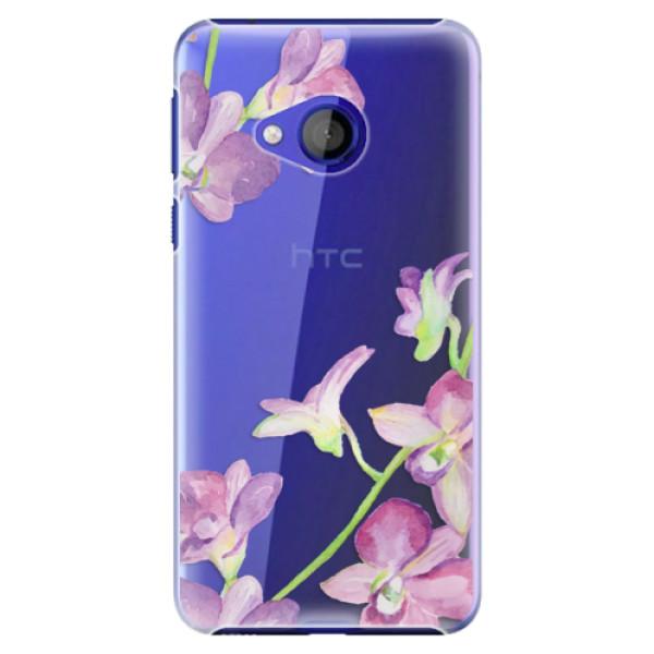 Plastové pouzdro iSaprio - Purple Orchid - HTC U Play