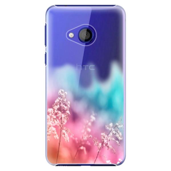 Plastové pouzdro iSaprio - Rainbow Grass - HTC U Play
